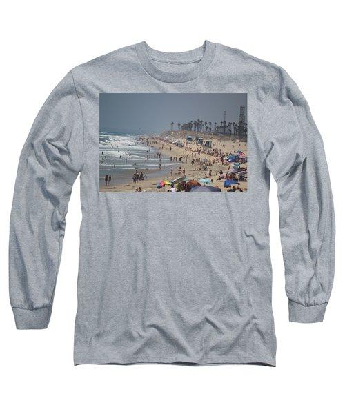 Hazy Lazy Days Of Summer Long Sleeve T-Shirt