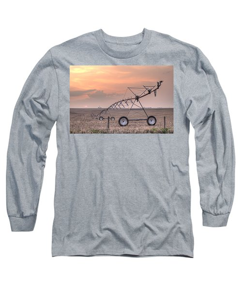 Hdr Sunset With Pivot Long Sleeve T-Shirt