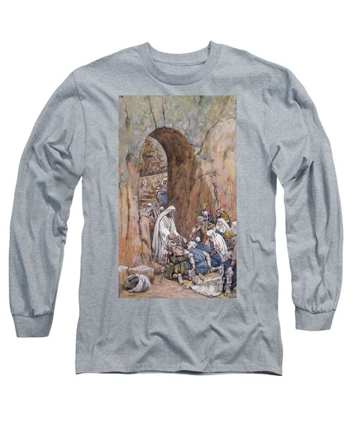 He Did No Miracles Save That He Healed Them Long Sleeve T-Shirt