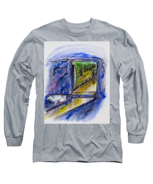 He Is Gone Long Sleeve T-Shirt by Clyde J Kell
