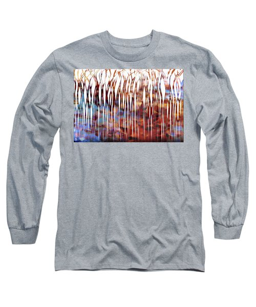 He Is Your Praise. Deuteronomy 10 21 Christian Art Long Sleeve T-Shirt by Mark Lawrence