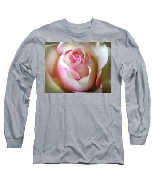 He Loves Me Still Long Sleeve T-Shirt by Karen Wiles