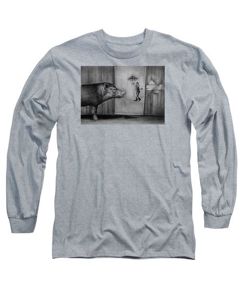 He Was Reaching The End Of His Rope Long Sleeve T-Shirt