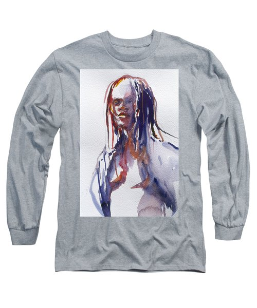 Head Study 3 Long Sleeve T-Shirt