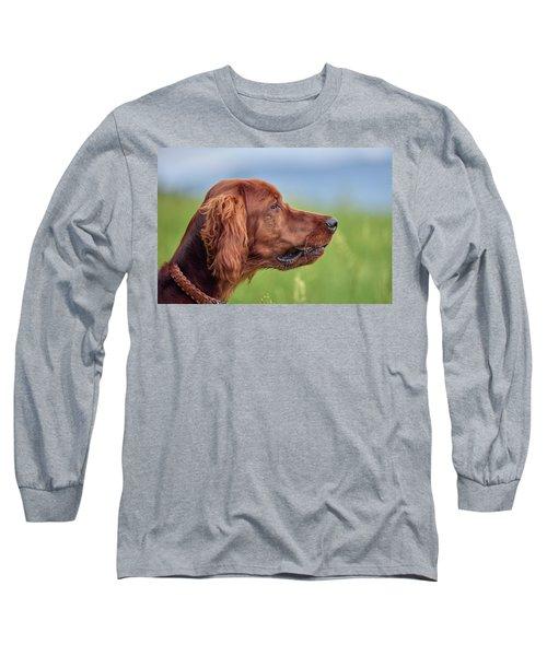 Head Study Long Sleeve T-Shirt