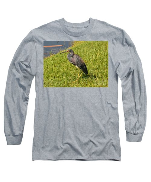 Long Sleeve T-Shirt featuring the photograph Heading For Water by Carol  Bradley