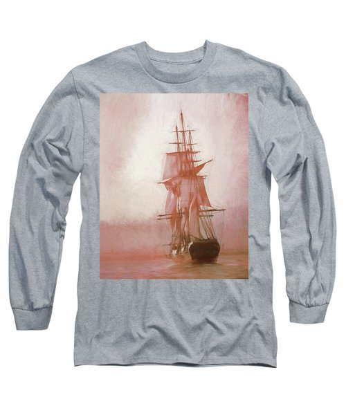 Heading To Salem From The Sea Long Sleeve T-Shirt