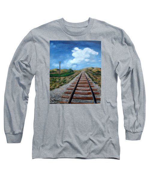 Heading West Long Sleeve T-Shirt by Laurie Morgan