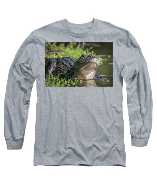 Heads-up Gator Long Sleeve T-Shirt