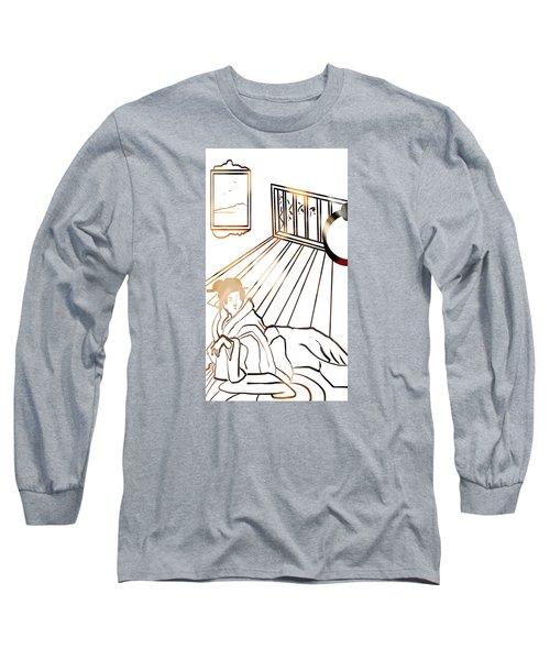 Healing . Energy Long Sleeve T-Shirt