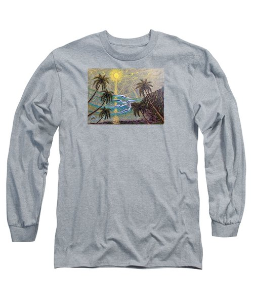 Healing Sunset Long Sleeve T-Shirt