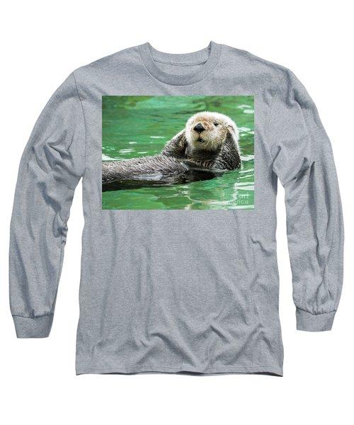 Hear No Evil Long Sleeve T-Shirt by Mike Dawson