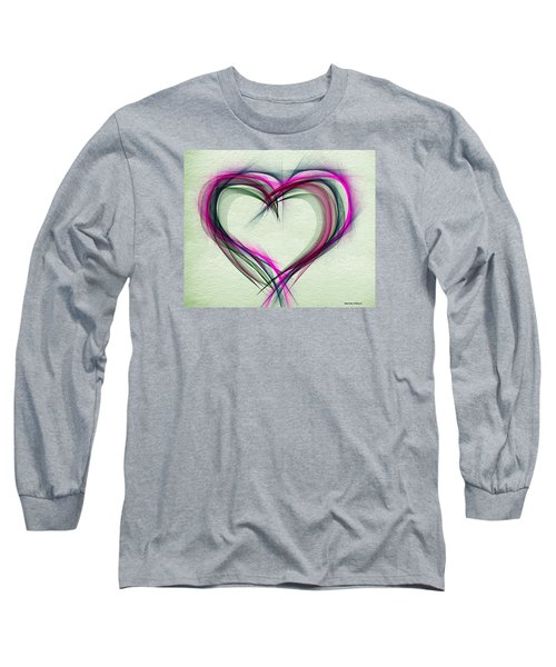 Heart Of Many Colors Long Sleeve T-Shirt