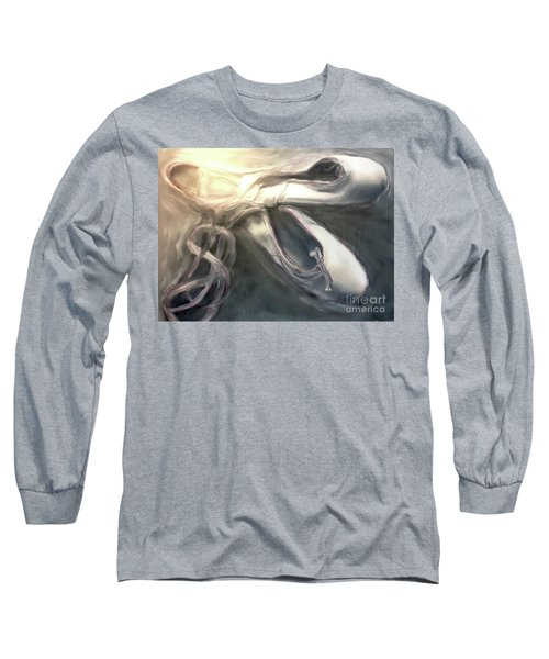 Long Sleeve T-Shirt featuring the painting Heart Of The Dance by FeatherStone Studio Julie A Miller