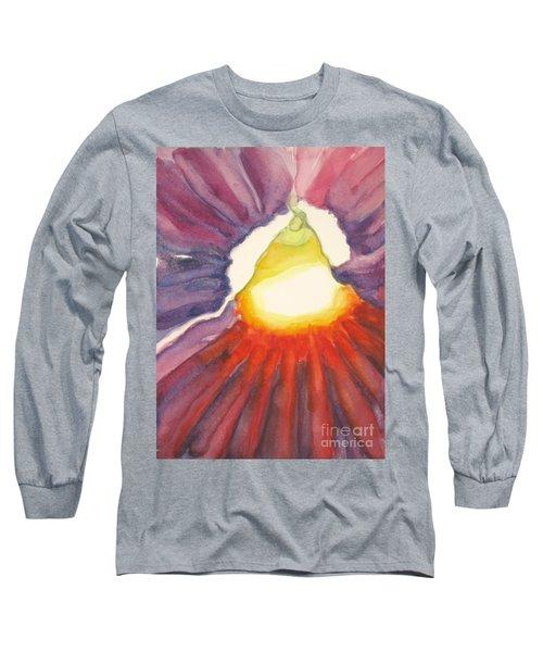 Heart Of The Flower Long Sleeve T-Shirt