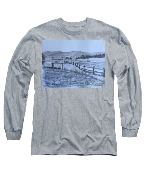 Hearts Desire Beach Long Sleeve T-Shirt