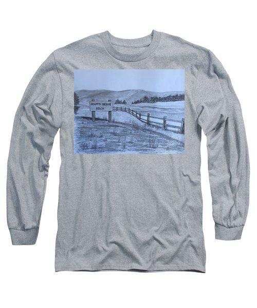 Hearts Desire Beach Long Sleeve T-Shirt