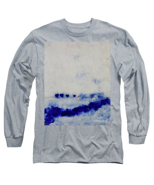 Hearts On A Wire Long Sleeve T-Shirt