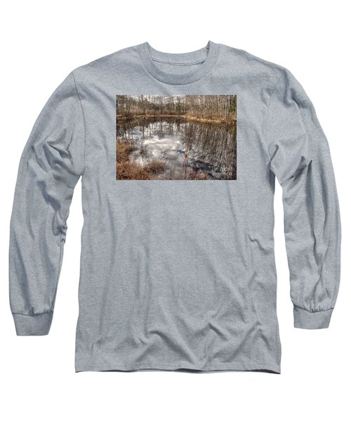 Long Sleeve T-Shirt featuring the photograph Heaven Below by Betsy Zimmerli