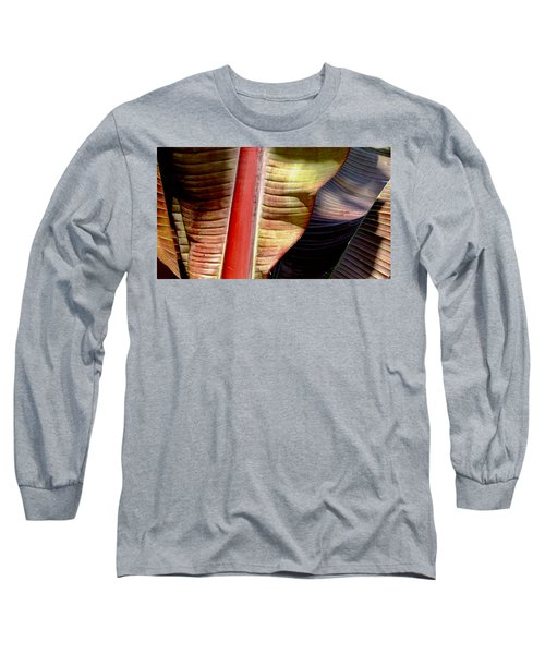 Heliconia Waves Long Sleeve T-Shirt