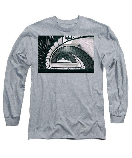 Helix Eye Long Sleeve T-Shirt by Iryna Goodall
