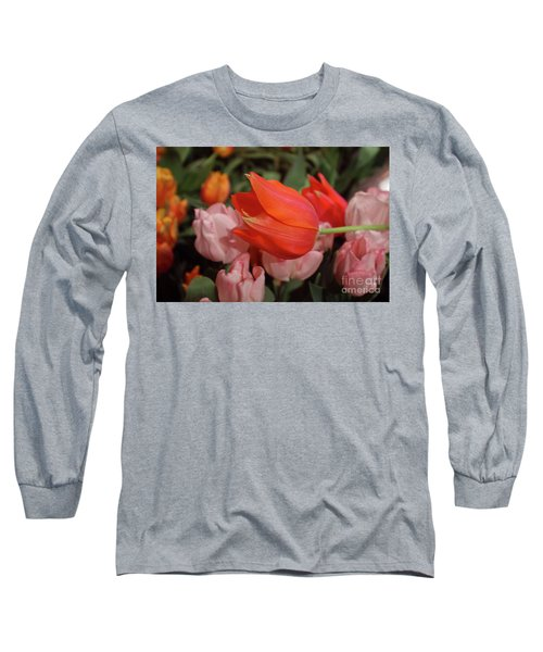 Hello Long Sleeve T-Shirt by Sandy Moulder