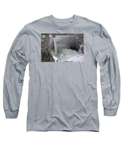 Helmcken Falls Long Sleeve T-Shirt by Ed Hall