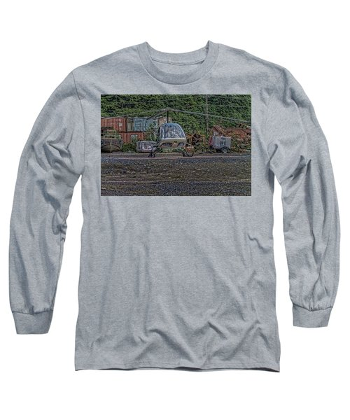 Long Sleeve T-Shirt featuring the photograph Help 4 by Timothy Latta