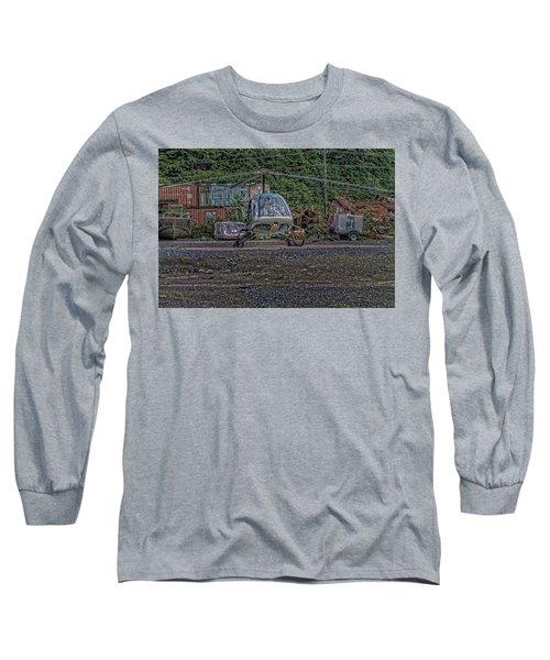 Help 4 Long Sleeve T-Shirt
