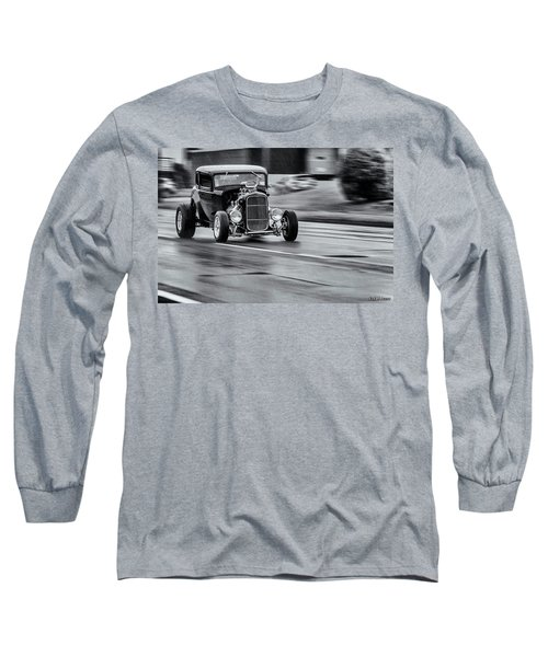 Hemi Powered 1932 Ford 5 Window Coupe Long Sleeve T-Shirt by Ken Morris