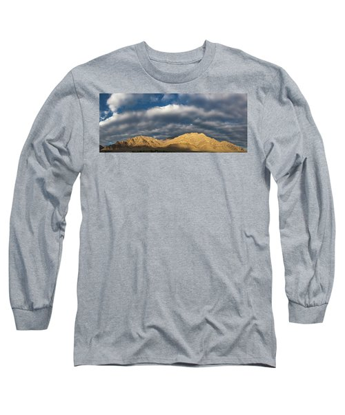 Long Sleeve T-Shirt featuring the photograph Hemis Panorama, Karu, 2005 by Hitendra SINKAR