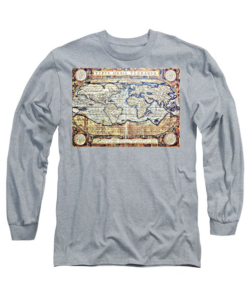 Hemisphere World  Long Sleeve T-Shirt