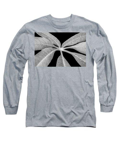 Hemp Tree Leaf Long Sleeve T-Shirt