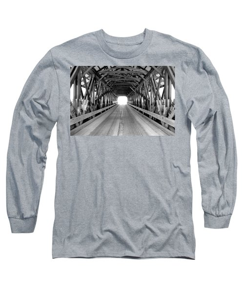 Henniker Covered Bridge Long Sleeve T-Shirt
