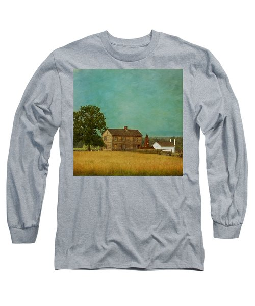 Henry House At Manassas Battlefield Park Long Sleeve T-Shirt
