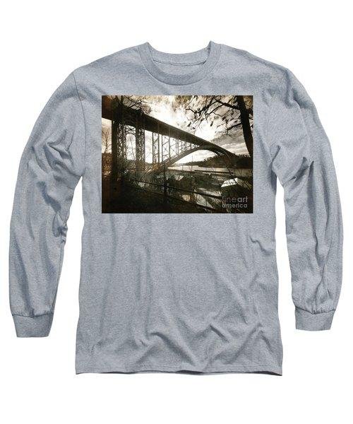 Henry Hudson Bridge, 1936 Long Sleeve T-Shirt