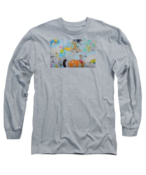 Long Sleeve T-Shirt featuring the photograph Hense Mural by Jean Haynes