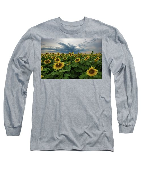 Here Comes The Sun Long Sleeve T-Shirt by Aaron J Groen