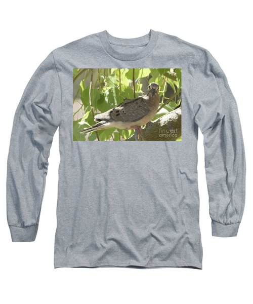 Here's Looking At You Babe Long Sleeve T-Shirt by Anne Rodkin