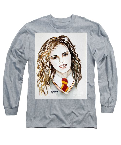 Hermoine Granger Long Sleeve T-Shirt by Maria Barry