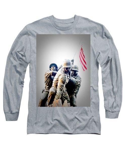 Heroes Long Sleeve T-Shirt by Julie Niemela