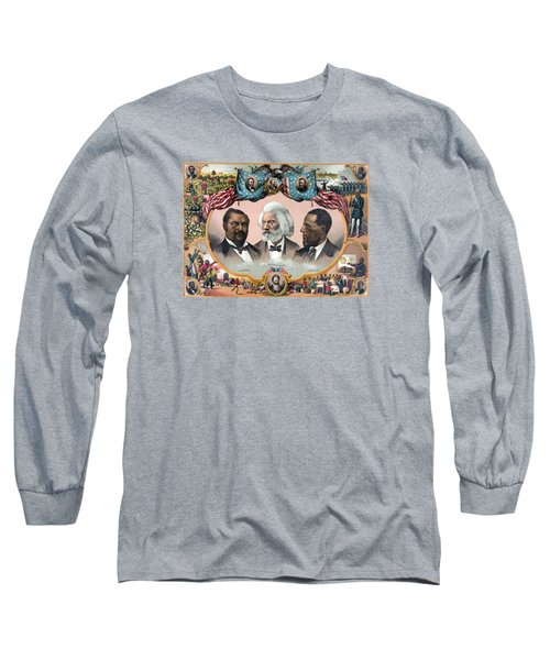 Heroes Of The Colored Race  Long Sleeve T-Shirt by War Is Hell Store
