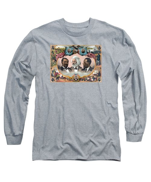 Heroes Of African American History - 1881 Long Sleeve T-Shirt