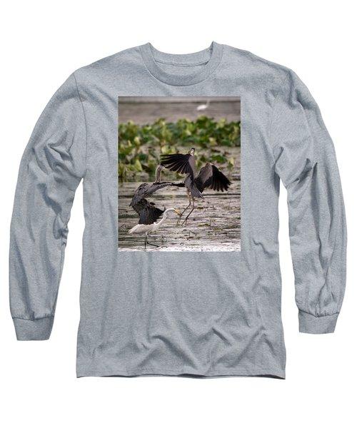 Heron Battle Long Sleeve T-Shirt