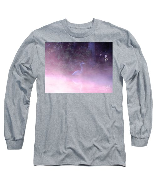 Long Sleeve T-Shirt featuring the photograph Heron Collection 3 by Melissa Stoudt