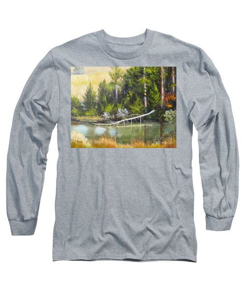 Heron Perch Long Sleeve T-Shirt