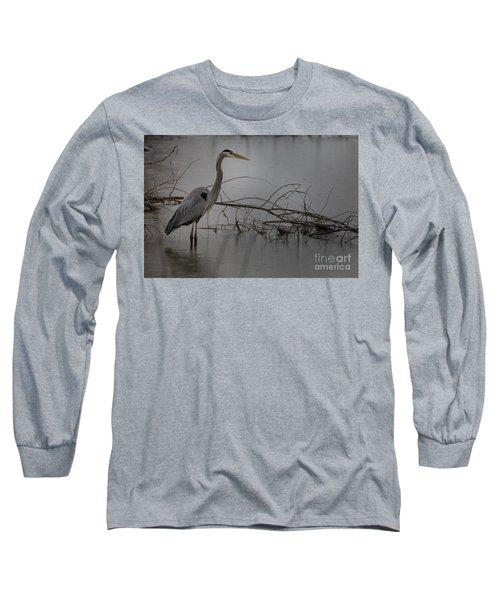 Heron Long Sleeve T-Shirt