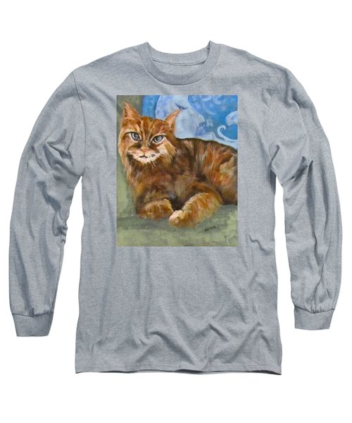 Hey Diddle Diddle  Long Sleeve T-Shirt by Barbara O'Toole