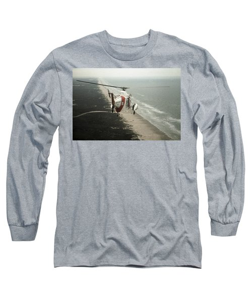 Hh-52a Beach Patrol Long Sleeve T-Shirt