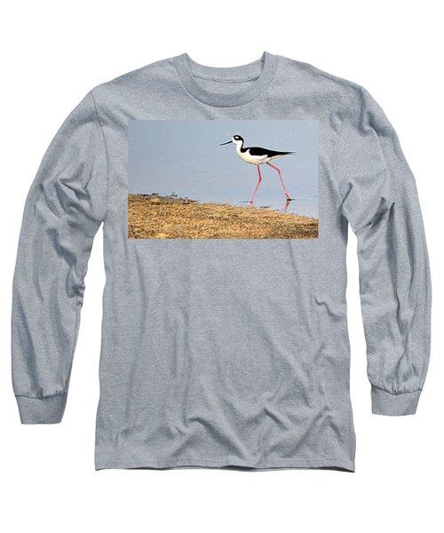Long Sleeve T-Shirt featuring the photograph Hi-stepper by AJ Schibig